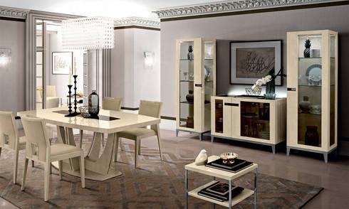 Modernes Wohn Esszimmer Ambra