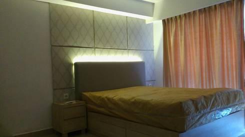 Apart The Hive Cawang:  Kamar Tidur by Dekapolis Design