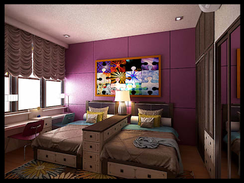 Kids room :  Kamar tidur anak by VaDsign