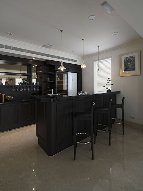 CORNER HOUSE:  廚房 by Fertility Design 豐聚空間設計