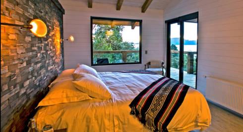 Habitaciones : Hoteles de estilo  por Aedo Arquitectos & Design