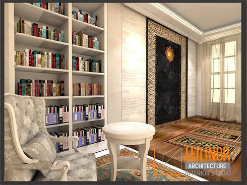 Classic Residential:  Ruang Kerja by CV Leilinor Architect