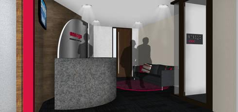 modern Study/office by SAE Studio (PT. Shiva Ardhyanesha Estetika)