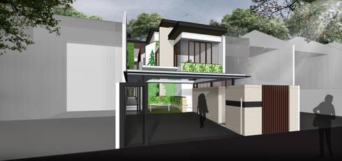 tropical Houses by SAE Studio (PT. Shiva Ardhyanesha Estetika)