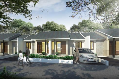minimalistic Houses by SAE Studio (PT. Shiva Ardhyanesha Estetika)