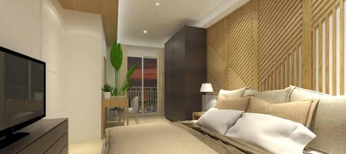modern Bedroom by SAE Studio (PT. Shiva Ardhyanesha Estetika)