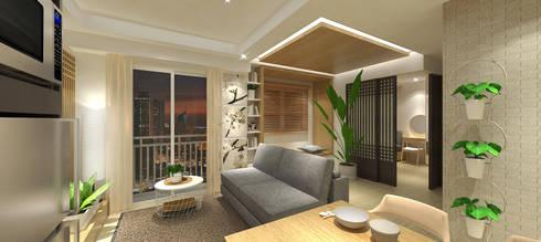 modern Living room by SAE Studio (PT. Shiva Ardhyanesha Estetika)