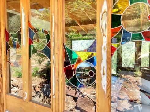 Casa Quincho – Carpinterias: Casas de madera de estilo  por Construyendo Reciclando