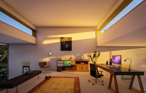 Fort Lauderdale: modern Study/office by Fernandez Architecture