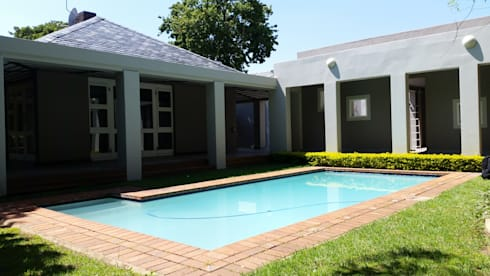 Renovation Project: classic Pool by Stacy Steel Works and Renovations