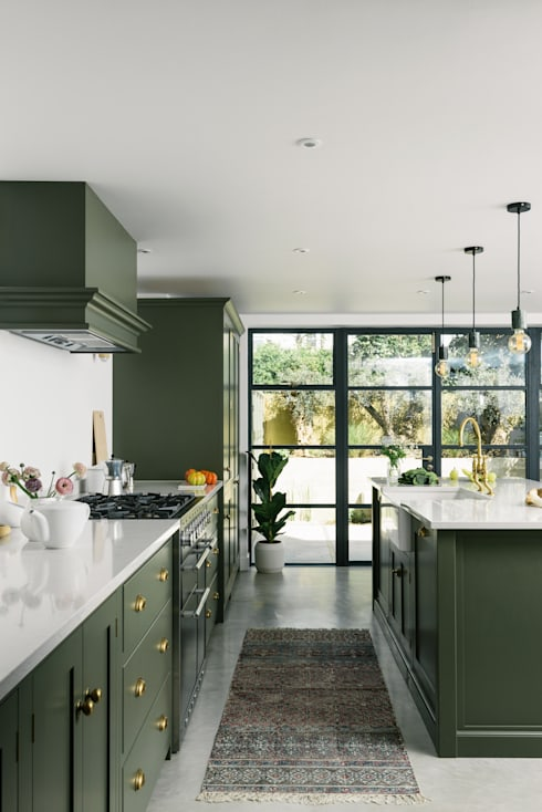 modern Kitchen by deVOL Kitchens