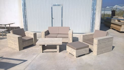 Nice ( 2 seats ):  Garden  by SEROGU Enterprise SL