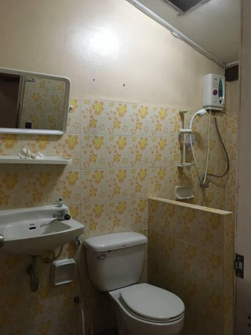 ห้องน้ำเดิม:   by สายรุ้งรีโนเวท