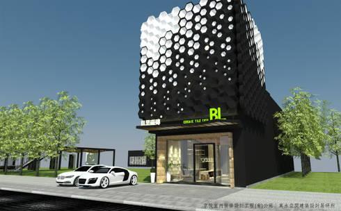 磁磚未來展示模式- AI智慧展示空間設計內容:  樓梯 by 京悅室內裝修設計工程(有)公司|真水空間建築設計居研所