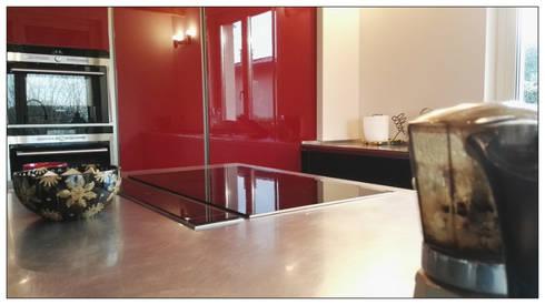 Cucina Rossa e Nera par Formarredo Due design 1967   homify