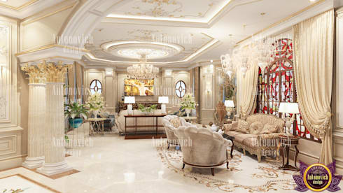 Best design projects of Katrina Antonovich: classic Living room by Luxury Antonovich Design