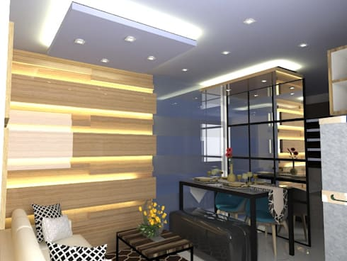 2 Bedroom Model unit:   by IDeal Spaces