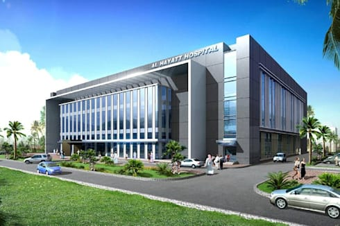 Al Hyatt Hospital:   by jmSantos Architecture