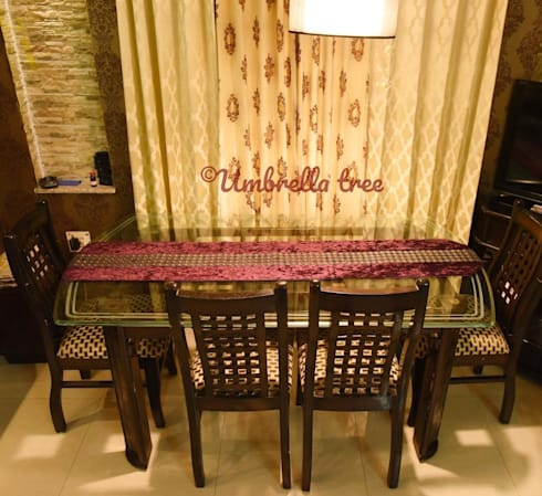 Interior Designs: classic Dining room by Umbrella Tree Designs