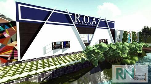 R.O.A Food Court Alt.1:   by RN STUDIO