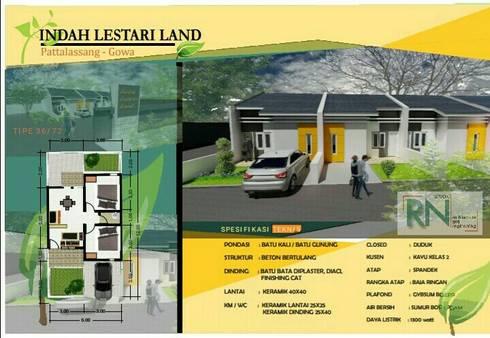 Indah Lestari Land:   by RN STUDIO