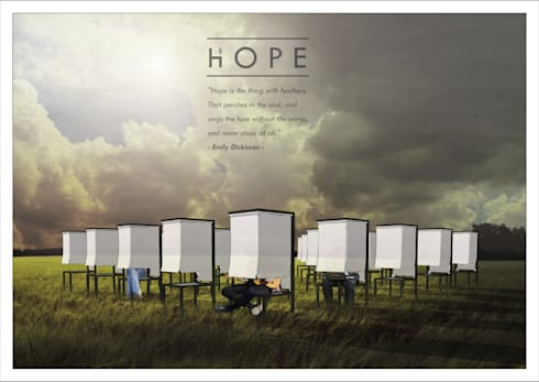 Hope - Installation for Sunbrella Future Design 2015:   by Studio Benang Merah