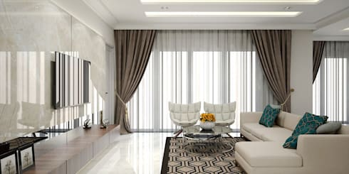 Livingroom:   by Vivame Design