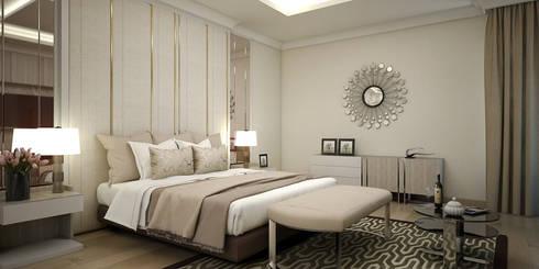 Kamar Utama:   by Vivame Design