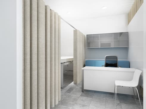 Clinic Office:   by KC INTERIORS