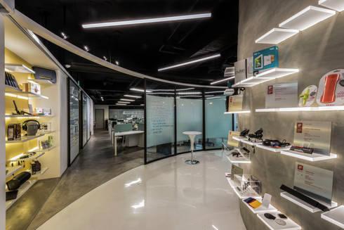 【辦公空間】CRE8台北內湖辦公室:  辦公室&店面 by 亞卡默設計有限公司