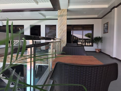 PRIVATE RESORT:  Terrace by JGA INTERIORS