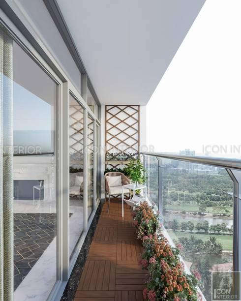 NGÔI NHÀ NUÔI DƯỠNG TÌNH YÊU – Thiết kế căn hộ ấn tượng tại Vinhomes Central Park:  Hành lang by ICON INTERIOR