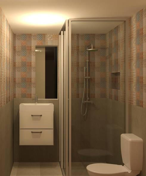Ba os modernos ideas con estilo escandinavo for Decoracion de interiores pequenos fotos