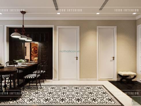 Thiết kế căn hộ Vinhomes Golden River – Phong cách thiết kế mang tiếng vọng xưa:  Cửa ra vào by ICON INTERIOR