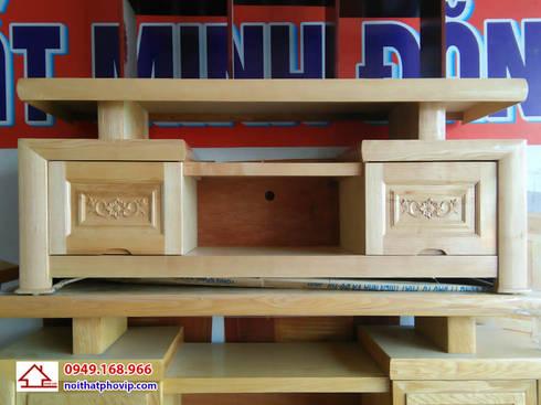 Mẫu KTVS521:   by Đồ gỗ nội thất Phố Vip