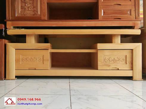 Mẫu KTVS103:   by Đồ gỗ nội thất Phố Vip