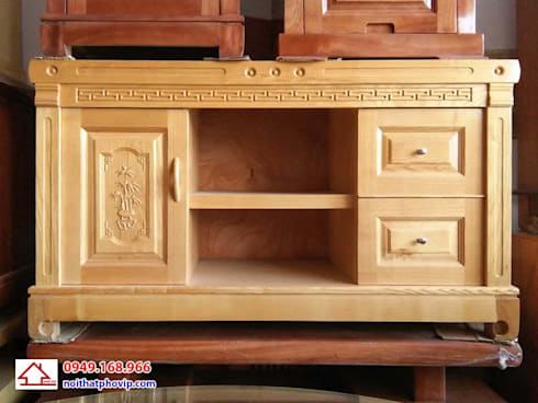 Mẫu KTVS125:   by Đồ gỗ nội thất Phố Vip