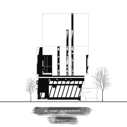 Maison Aksara Kebagusan:   by Studio Benang Merah
