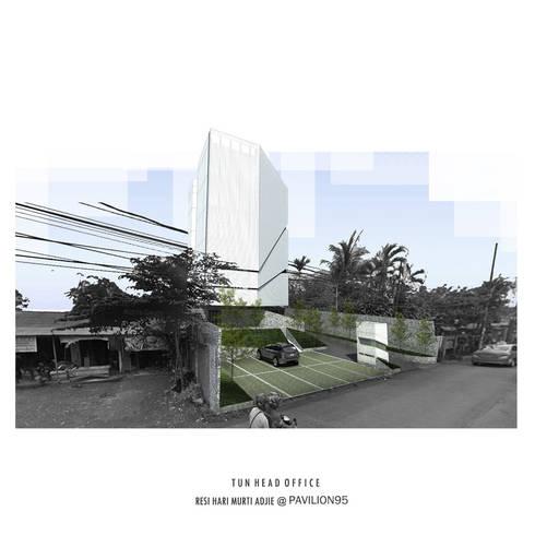 Tata Udara nusantara HQ @ Jakarta Timur:   by Studio Benang Merah