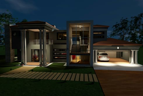 Tuscan modern design :   by MNM MULTI PROJECTS