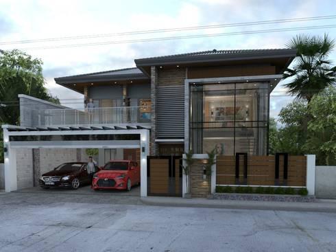 MODERN HOUSE DESIGN:   by Dennis Gomez CAD Services