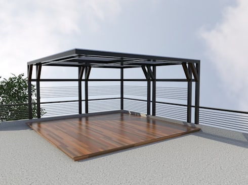 MODERN DESIGN OF HOUSE:   by Dennis Gomez CAD Services