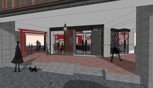 作伙 ~ 在地的<q>辦桌</q>文化:  餐廳 by 騰龘空間設計有限公司