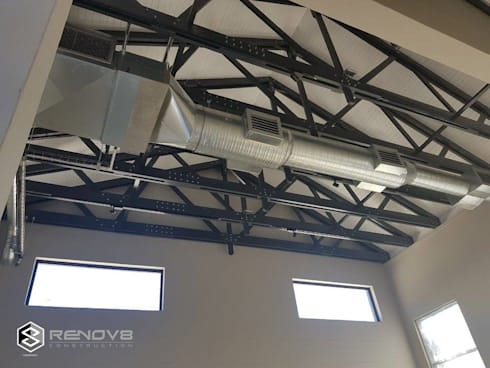 Ceiling Detail:   by Renov8 CONSTRUCTION