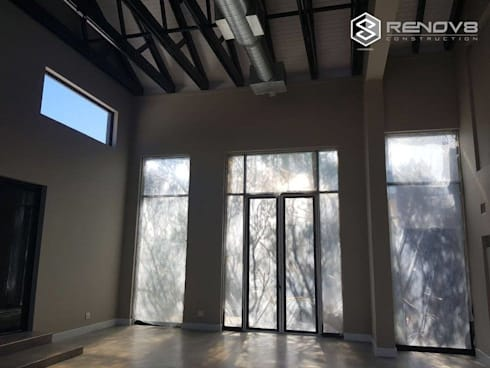 Almost complete Interior view:   by Renov8 CONSTRUCTION