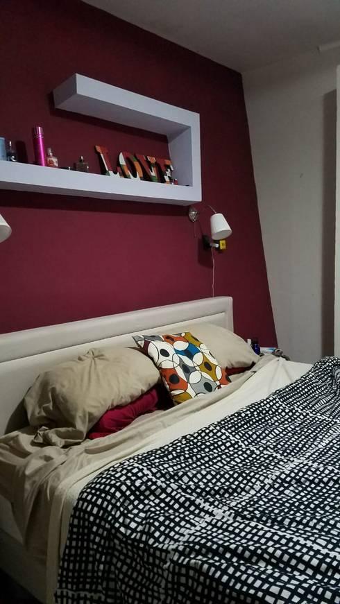 Casa A&P: Dormitorios de estilo  por Módulo 3 arquitectura