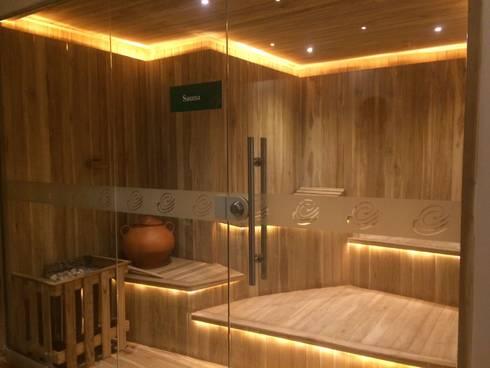 Baño turco: Hoteles de estilo  por Diseñador Paul Soto