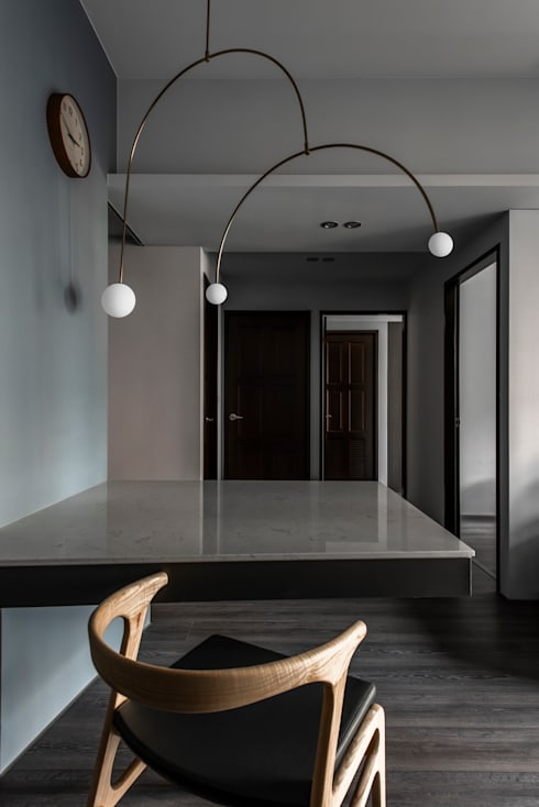 Dining area / Rooms:  餐廳 by 湜湜空間設計