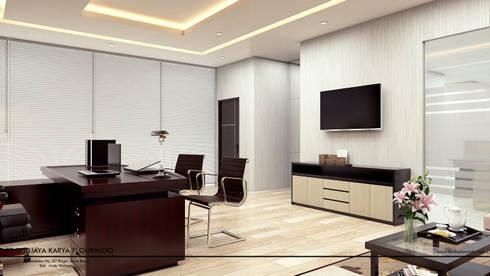 Office Space:  Gedung perkantoran by Revel