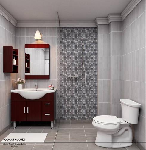 Mini Bathroom:  Kamar Mandi by Revel